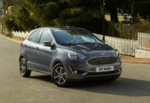 Ford Figo 2018 Facelift Front