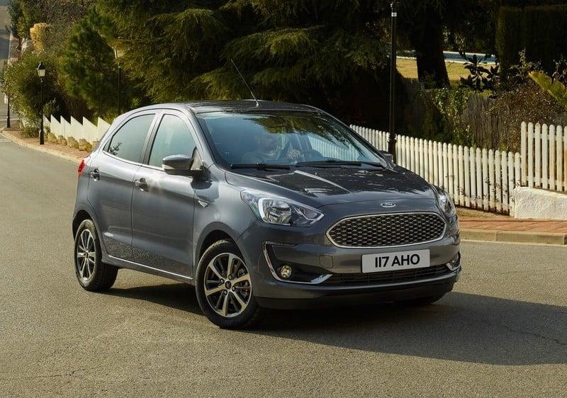 Ford Figo 2018 Facelift Front