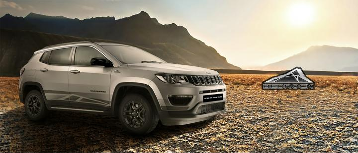 Jeep Compass Bedrock Limited Edition Launched; Priced At Rs 17.53 Lakhs