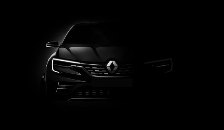 Renault SUV-Coupe Teaser Image