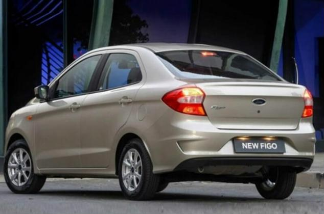 ford aspire 2018 image rear