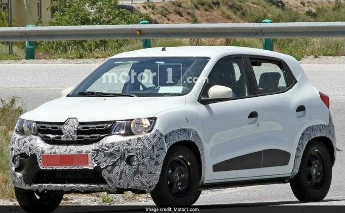 Renault KWID Facelift Spotted Testing; India Launch Likely Next Year