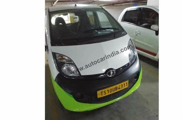 tata nano electric spy three pic