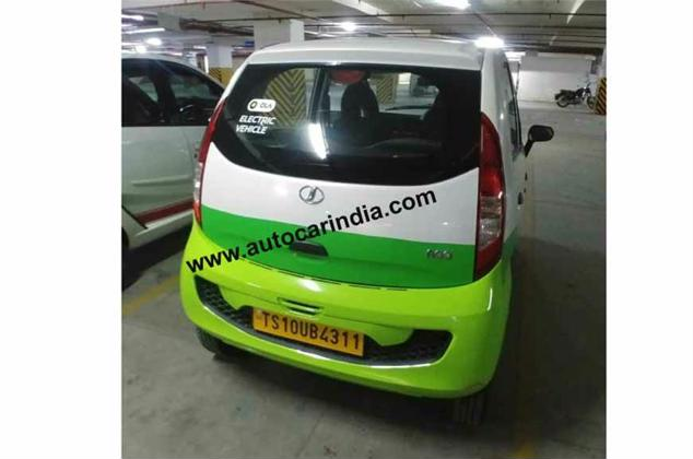 tata nano electric spy two image