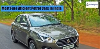 Most Fuel Efficient Petrol Cars in India featured