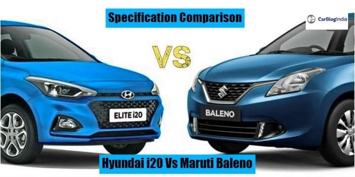 2018 Hyundai Elite I20 Vs Maruti Baleno Which One Is Better