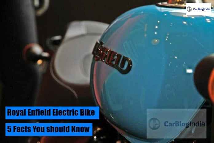 Royal Enfield Electric Bike- Five Interesting Facts You Should Know