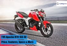 2018 TVS Apache RTR 160 4V