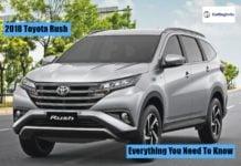2018 Toyota Rush image