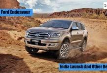 2018 ford endeavour (Ford Everest) Facelift