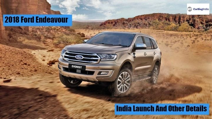 2018 ford endeavour (Ford Everest) Facelift