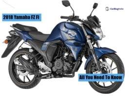 2018 Yamaha FZ-S FI