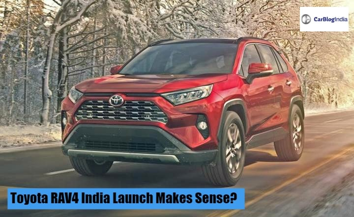 Toyota Rav4 India Launch Makes Sense Ideal Rival For Jeep Compass