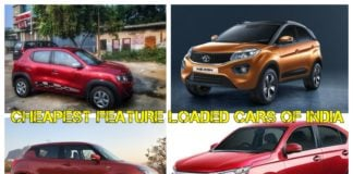 Cheapest Feature Loaded Cars Of India
