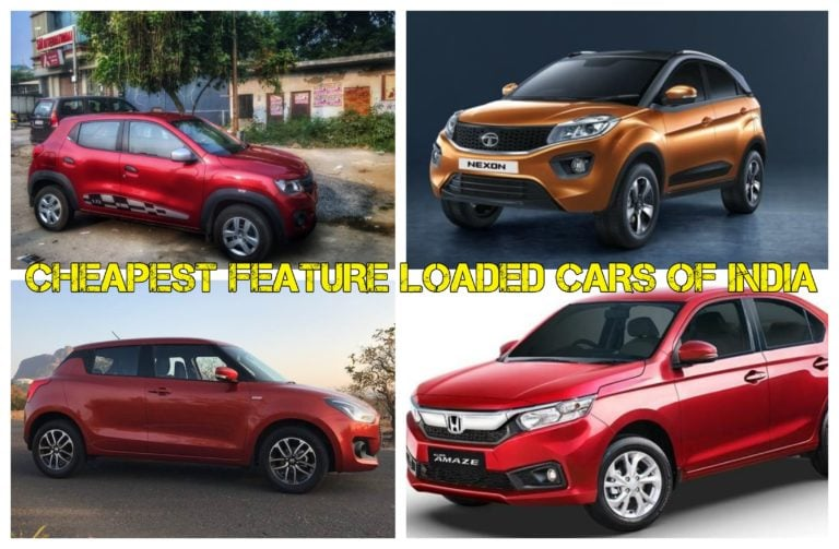 Cheapest Feature Loaded Cars In India – Features, Price And Images