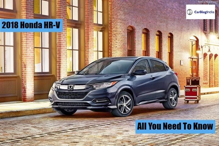 Honda Hr V India Launch Date Price Specifications Features Design