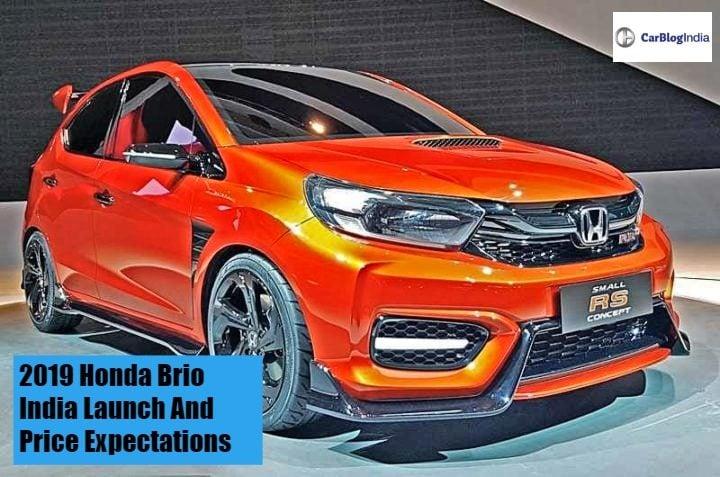 New Honda Brio Price In India Launch Date Mileage Features Specs