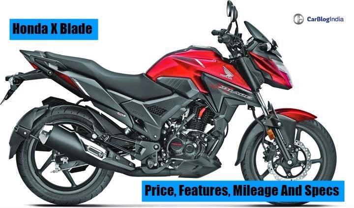 Honda X Blade 160