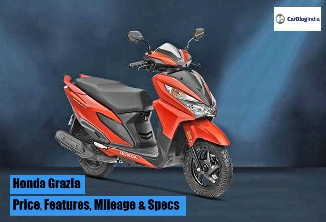 Honda Grazia Price In India, Mileage, Features, Images & Specs