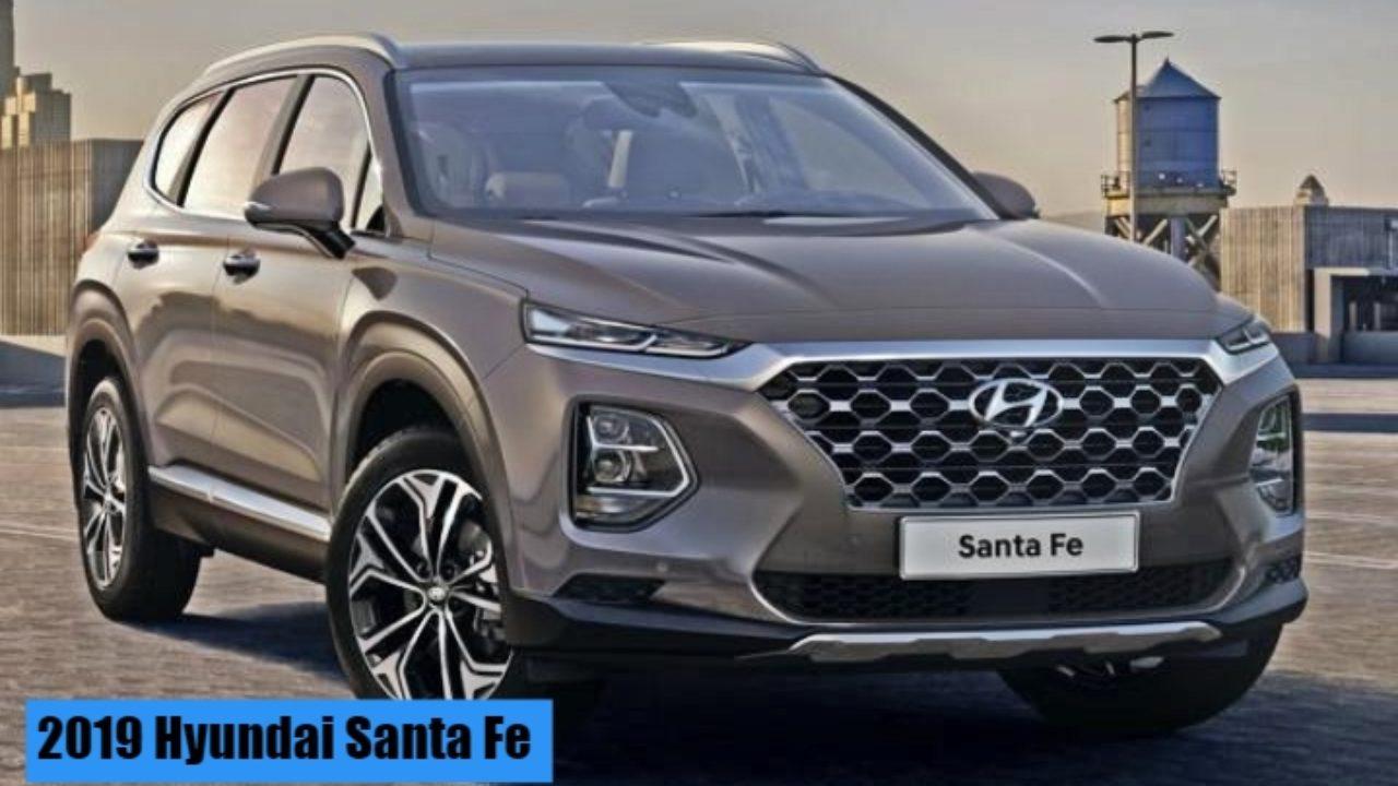 2019 Hyundai Santa Fe Price In India, Launch, Interior