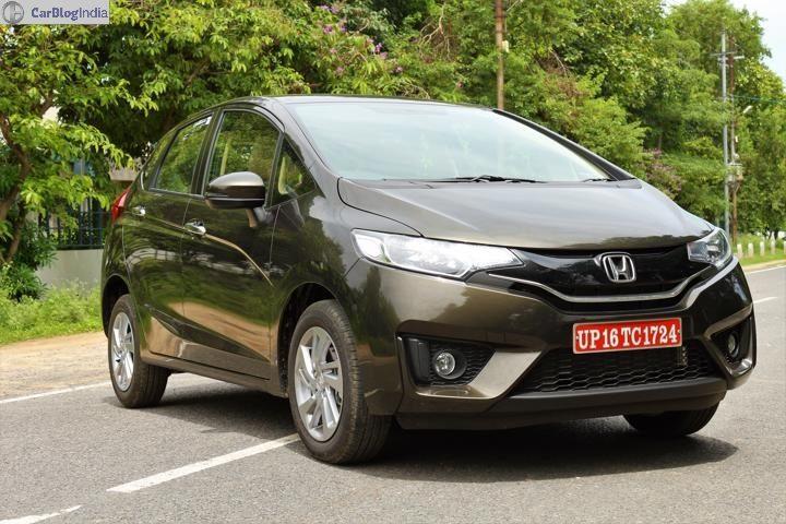 2018 Honda Jazz Review Front 3/4 Image