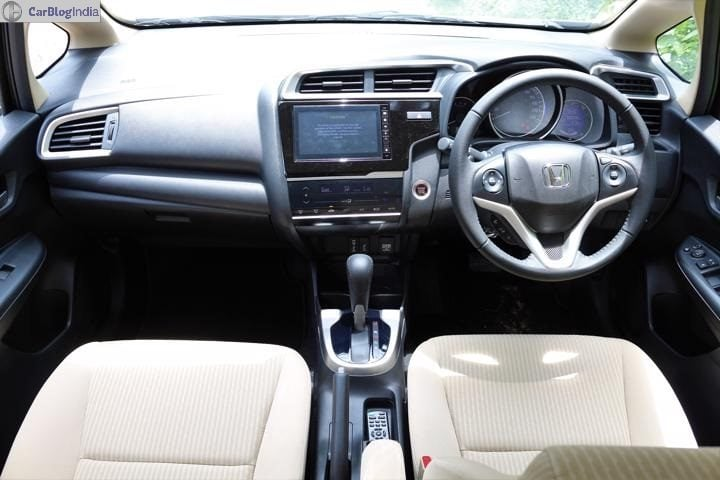 2018 Honda Jazz Review Interior Image