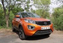 Tata Nexon AMT Front Image