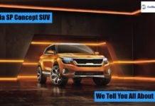 Kia SP Concept SUV Image