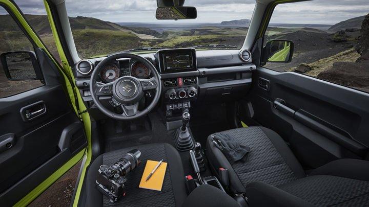 2018 Suzuki Jimny SUV Interiors