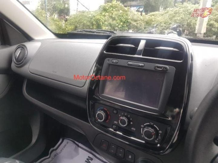 Renault KWID Facelift Interiors