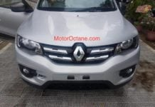 Renault Kwid Facelift Front