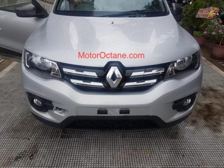 Renault KWID Facelift Could Launch By Festive Season This Year- Spotted Completely Undisguised