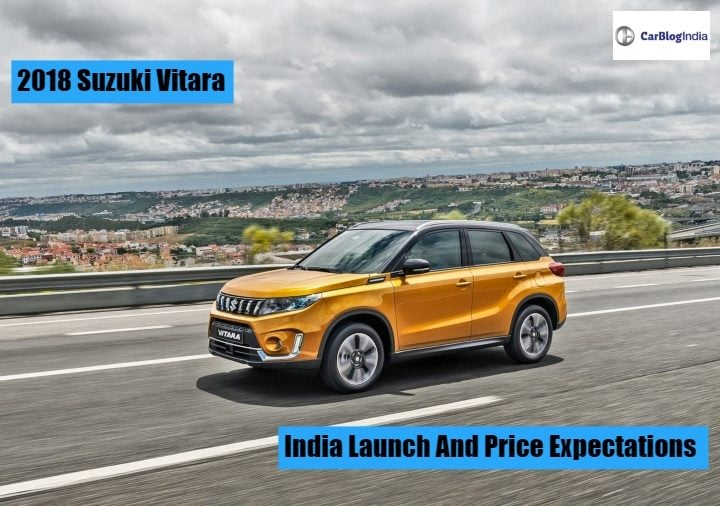 2018 Maruti Suzuki Vitara What This Suv Is