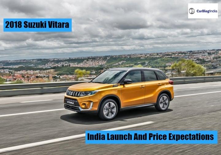 2018 Maruti Suzuki Vitara Price Launch Date Mileage And Specifications