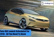 Tata 45X Launch