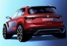 Volkswagen T-Cross teaser image rear