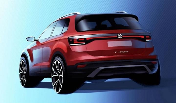 Volkswagen T-Cross teaser image rear