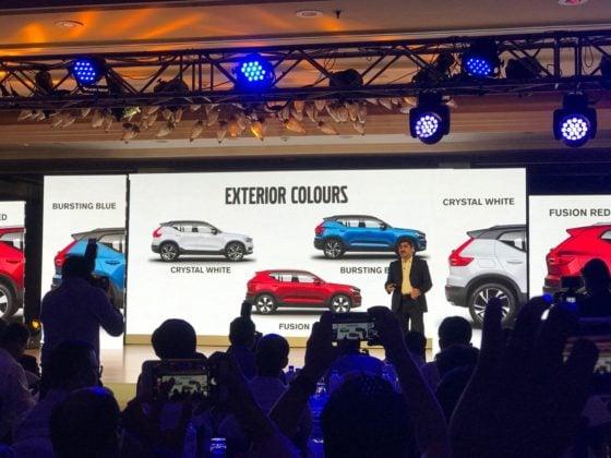 Volvo XC40 SUV India Launch