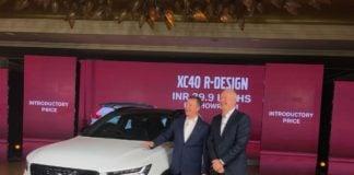 Volvo XC40 SUV Launch