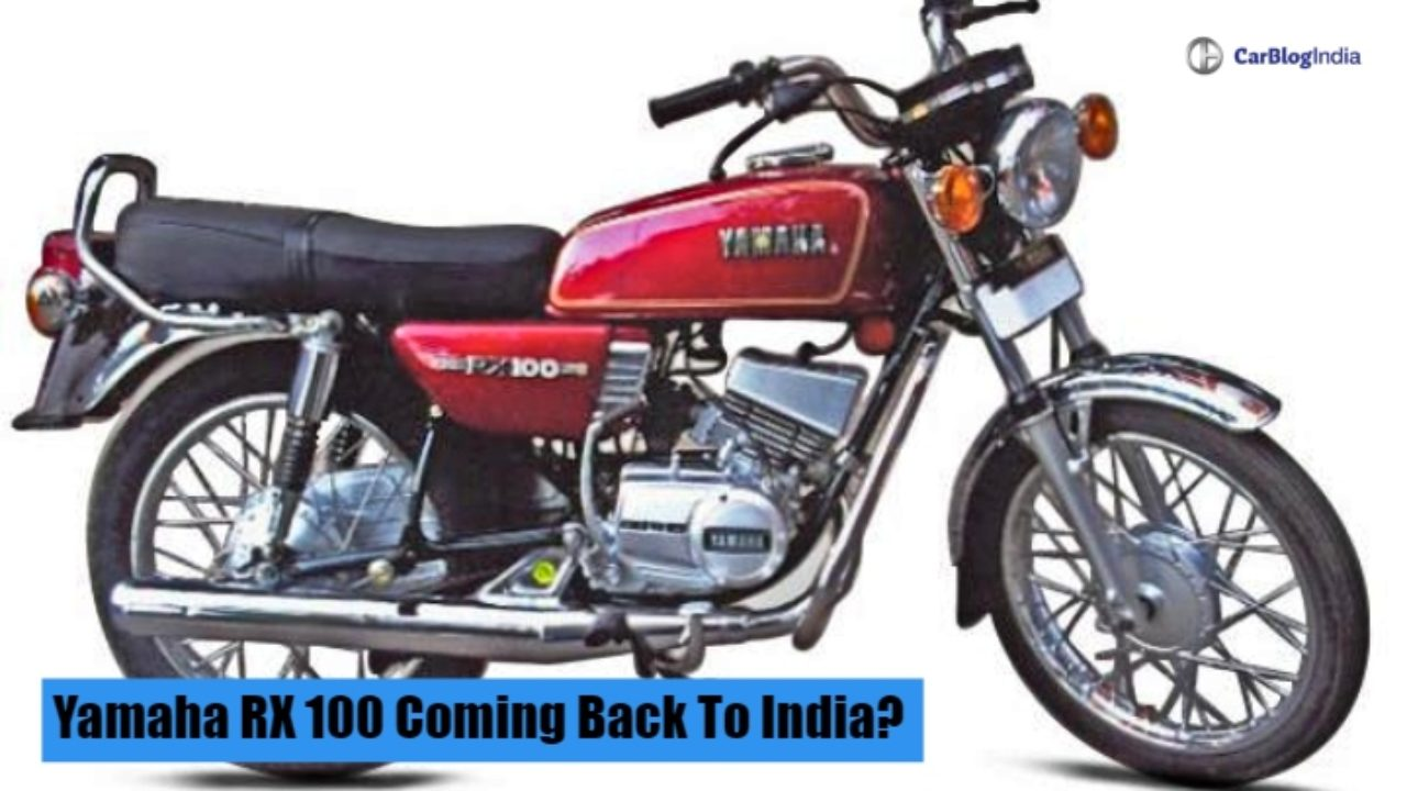 Yamaha RX 100 Will Never Relaunch