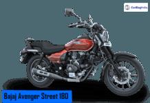 2018 bajaj avenger street 180 main