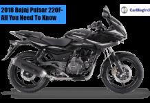 2018 Bajaj Pulsar 220F