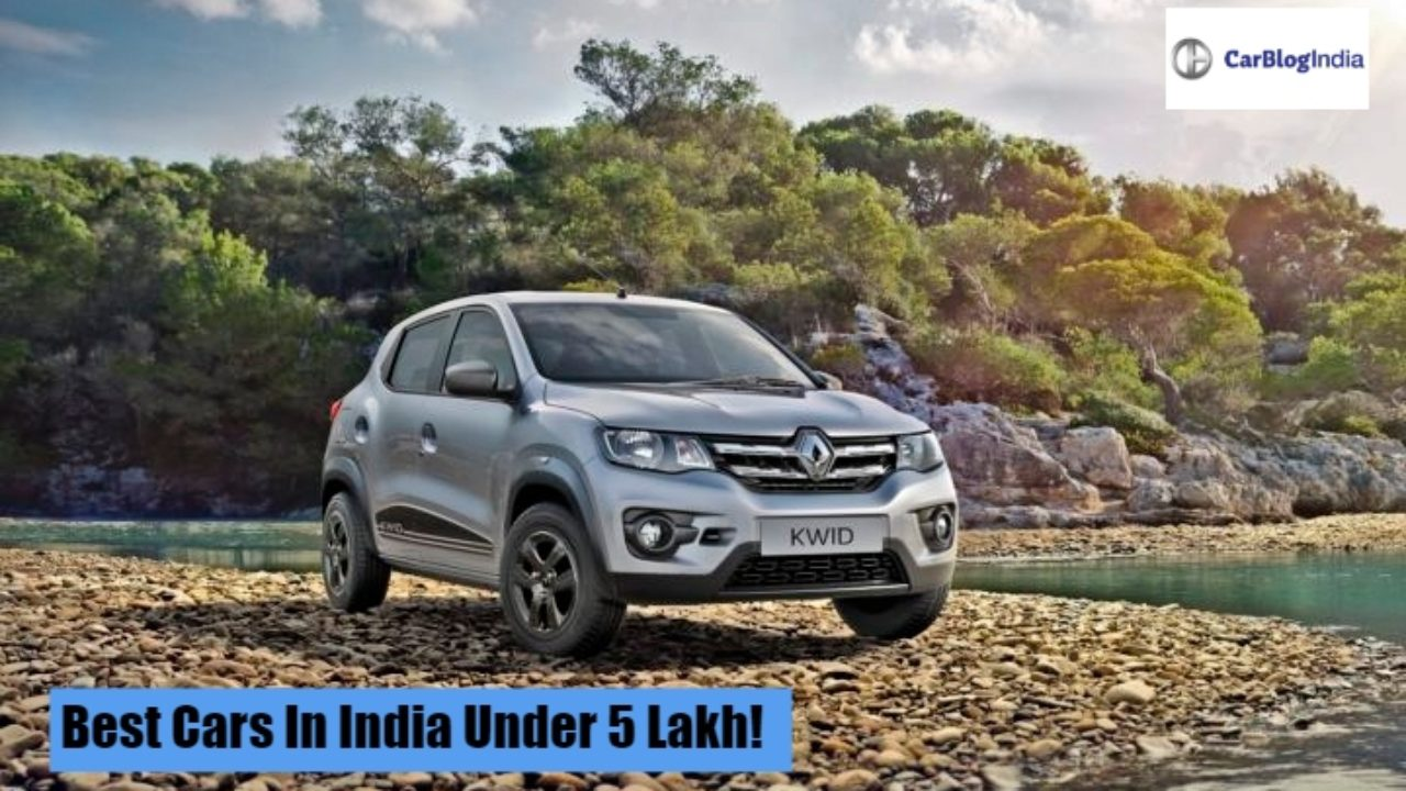Best Cars Under 5 Lakhs Top Cars Under Rs 5 Lakh In India