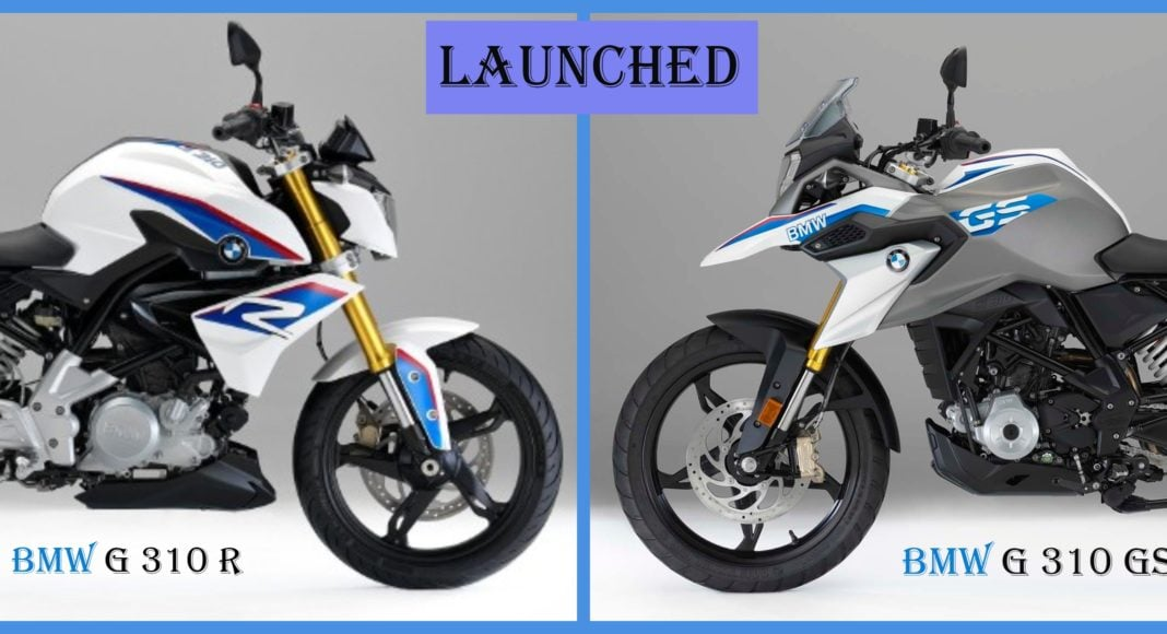 bmw g310 r bmw g310 gs launched image pic