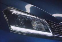 maruti ciaz 2018 facelift headlight image