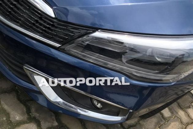 maruti ciaz facelift spy image front