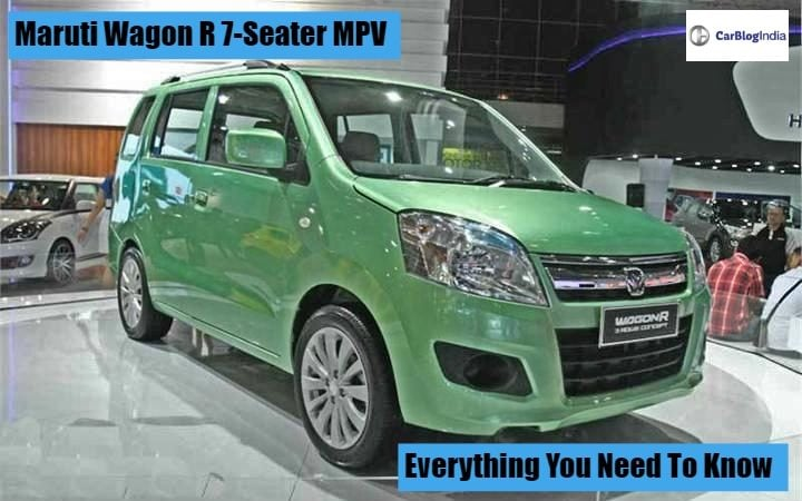 Maruti Wagon R 7 Seater Launch Date Expected Price And More