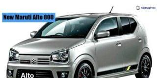 new maruti alto 800 front image