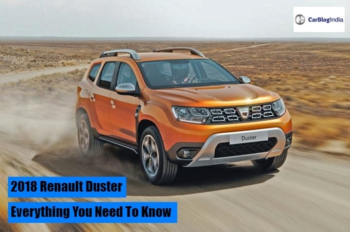 Dacia Duster New Model >> Renault Duster 2018 Price In India, Launch Date, Interior, Review, Specs