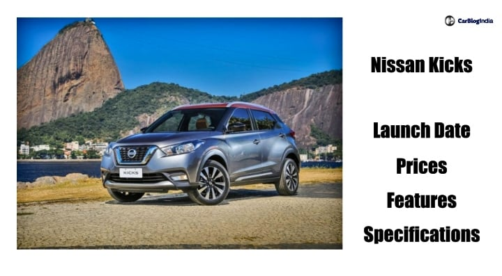 Nissan Kicks Small SUV Coming to India in 2018